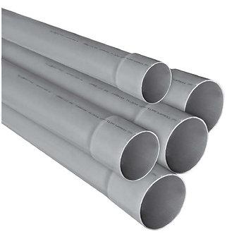 Ţevi PVC cu mufă lisă pentru canalizări interioare