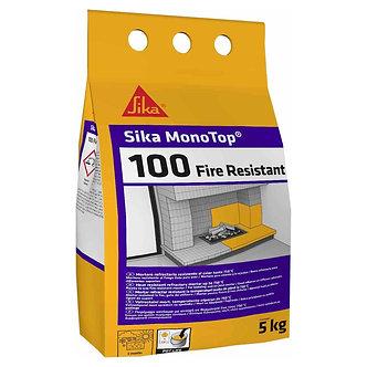 Mortar refractar rezistent la caldura, Sika MonoTop 100 Fire Resistant, gri