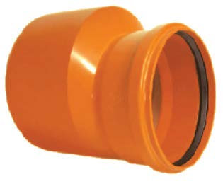 Reducție excentrică PVC SN4 (KGR)