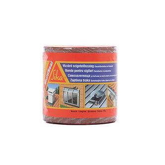 Banda bituminoasa etansare Sika MultiSeal, maro teracota, 10 m x 150 mm