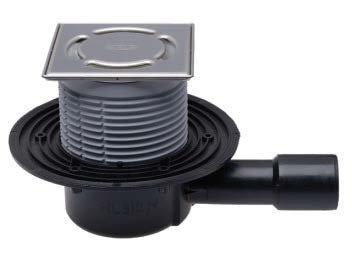 SIFHL510NPr-3000 Sifon pardoseală cu ieșire verticală, OBTURATOR PRIMUS, RAMĂ IN