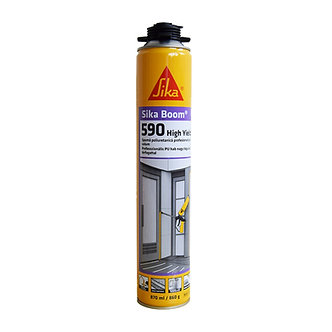 Spuma poliuretanica, aplicare cu pistol, Sika Boom-590 High Yield, 870 ml
