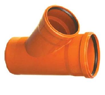 Ramificaţie PVC la 45° şi 67° SN4 (KGEA)