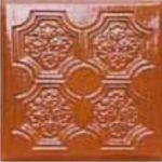 Cahle teracota Macon clasic-Model Panseluta, placa, culoare maro M12