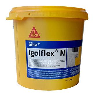 Masa de spaclu flexibila din bitum-cauciuc hidroizolatii Sika Igolflex N 25Kg