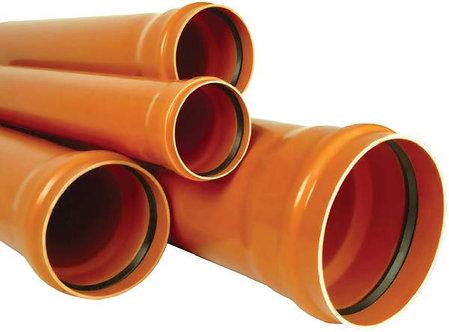 PVC-U multistrat cu o mufă și garnitură SN4 (SDR41) (KGEM) - SR EN 13476-1,2