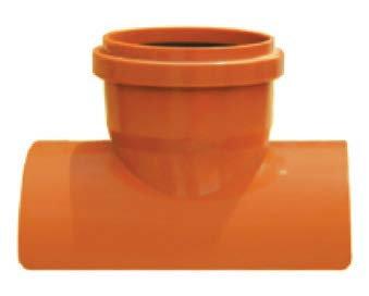 Șa PVC bransament prin lipire 87 - SN4