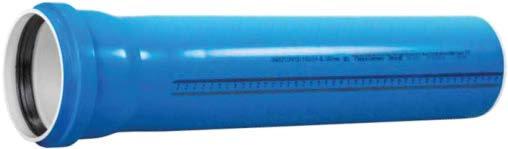 Țevi PP Ultra dB cu mufă și garnitură