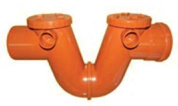 Sifon canalizare exterioară PVC