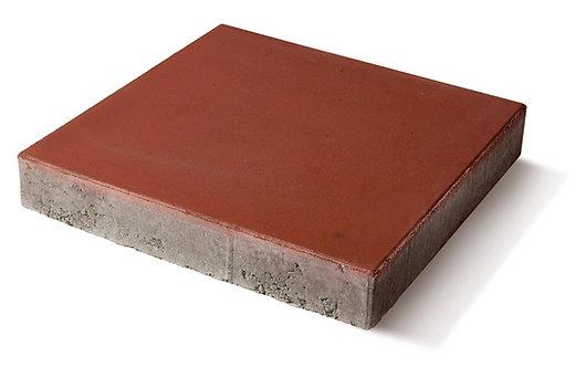 Pavaj rezidential Symmetrica, Amplio, patrat, rosu, 400 x 400 x 60 mm