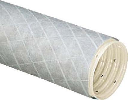 Țevi PVC flexibile drenaj gofrate cu filtru sintetic