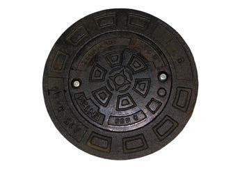 Capac fontă clasa B125 pentru inel beton