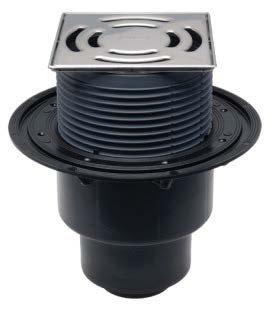 SIFHL3100Pr Sifon pardoseală cu ieșire verticală, OBTURATOR PRIMUS, înălțător cu