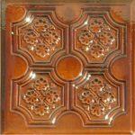 Cahle teracota Macon clasic-Model Panseluta, placa, culoare maroBM12