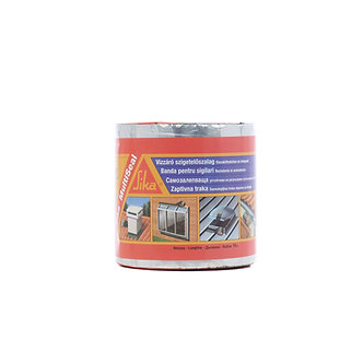 Banda bituminoasa etansare hidroizolatii Sika MultiSeal aluminiu 10 m x 150 mm