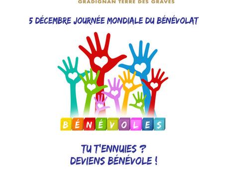 Fêtons ensemble la journée mondiale du bénévolat!