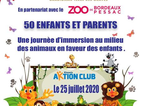 En partenariat avec le ZOO de Bordeaux Pessac