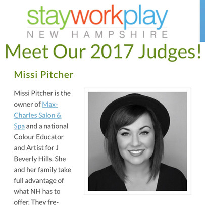 Owner Missi Pitcher announced as a judge for Stay Work Play New Hampshire.