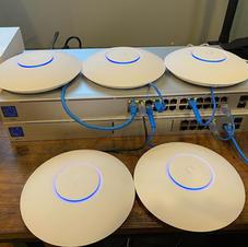 Ubiquiti network pre-configuration