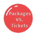 Packages vs Tickets