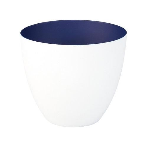 Waxinelichthouder L - Winter Blauw