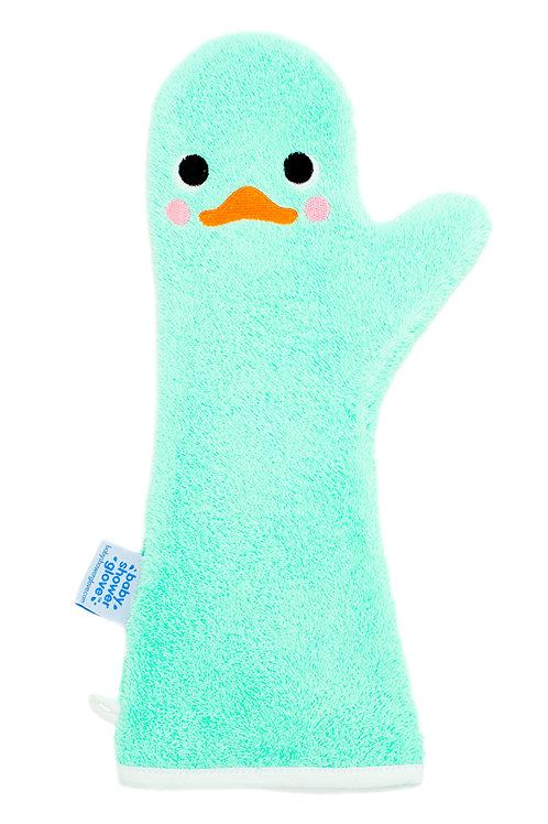 Baby Shower Glove Mint Zwaan
