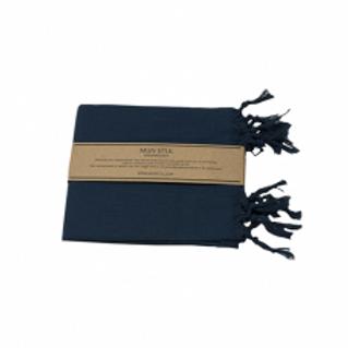 Hamamdoek - Jeans blauw