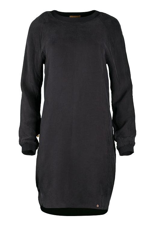 Feestelijk jurkje - Off Black