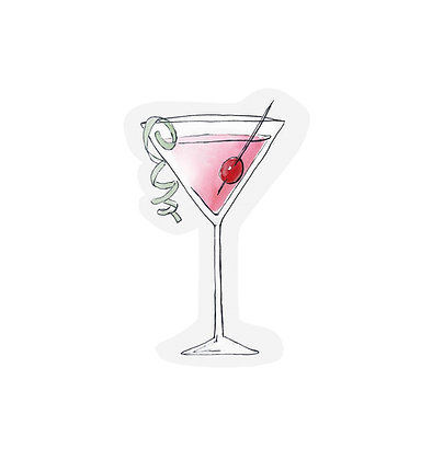 Cutout cards - COCKTAIL