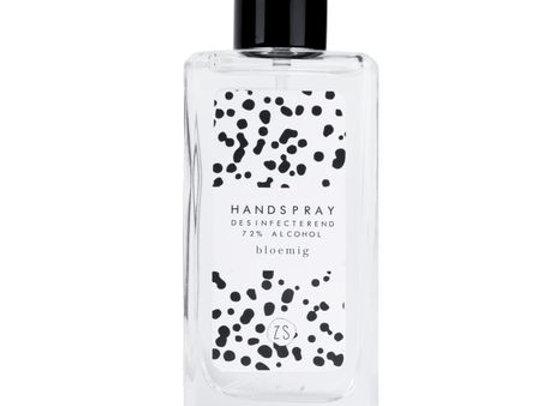 Desinfecterende handspray met bloemige geur