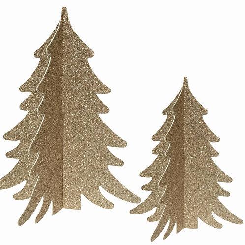 Decoratie Bomen - Goud