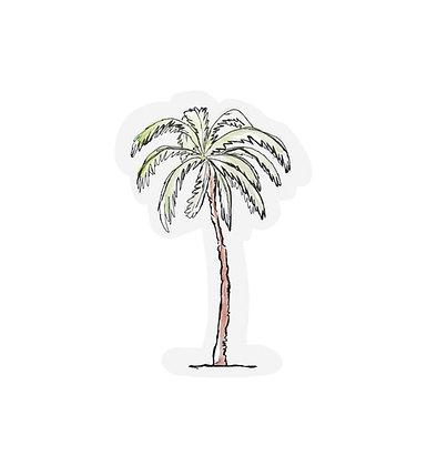 Cutout cards - PALM TREE