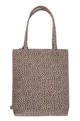 Basic shopper met kwast zand