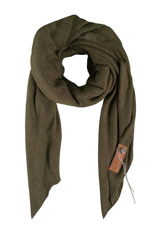 Stoere grote sjaal - Groen