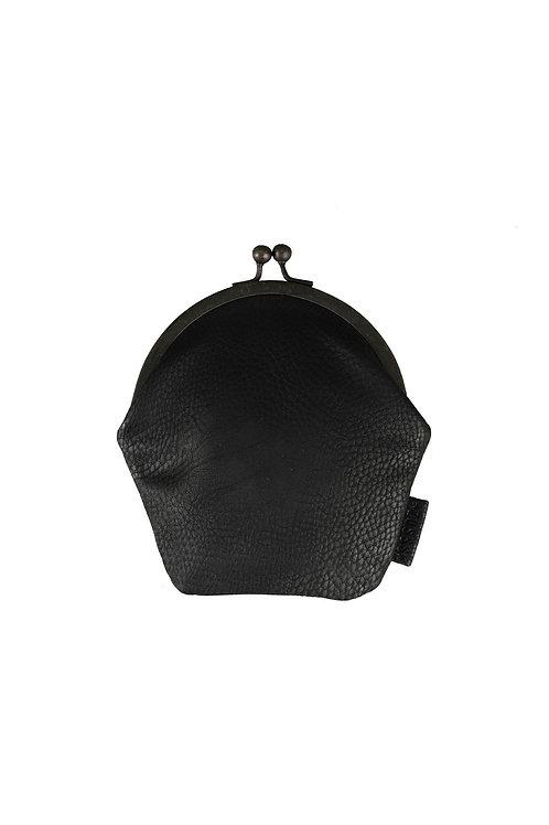 Knip portemonnee - Zwart