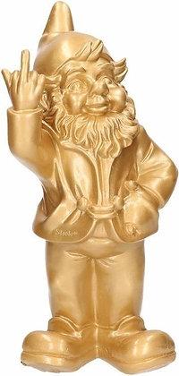 Kabouter F*ckyou 30cm goud