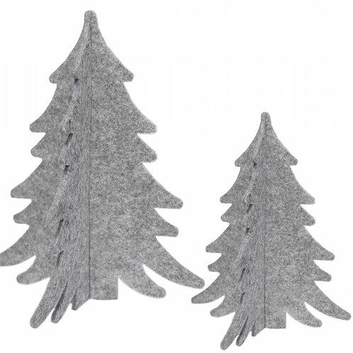 Decoratie Bomen - Grijs