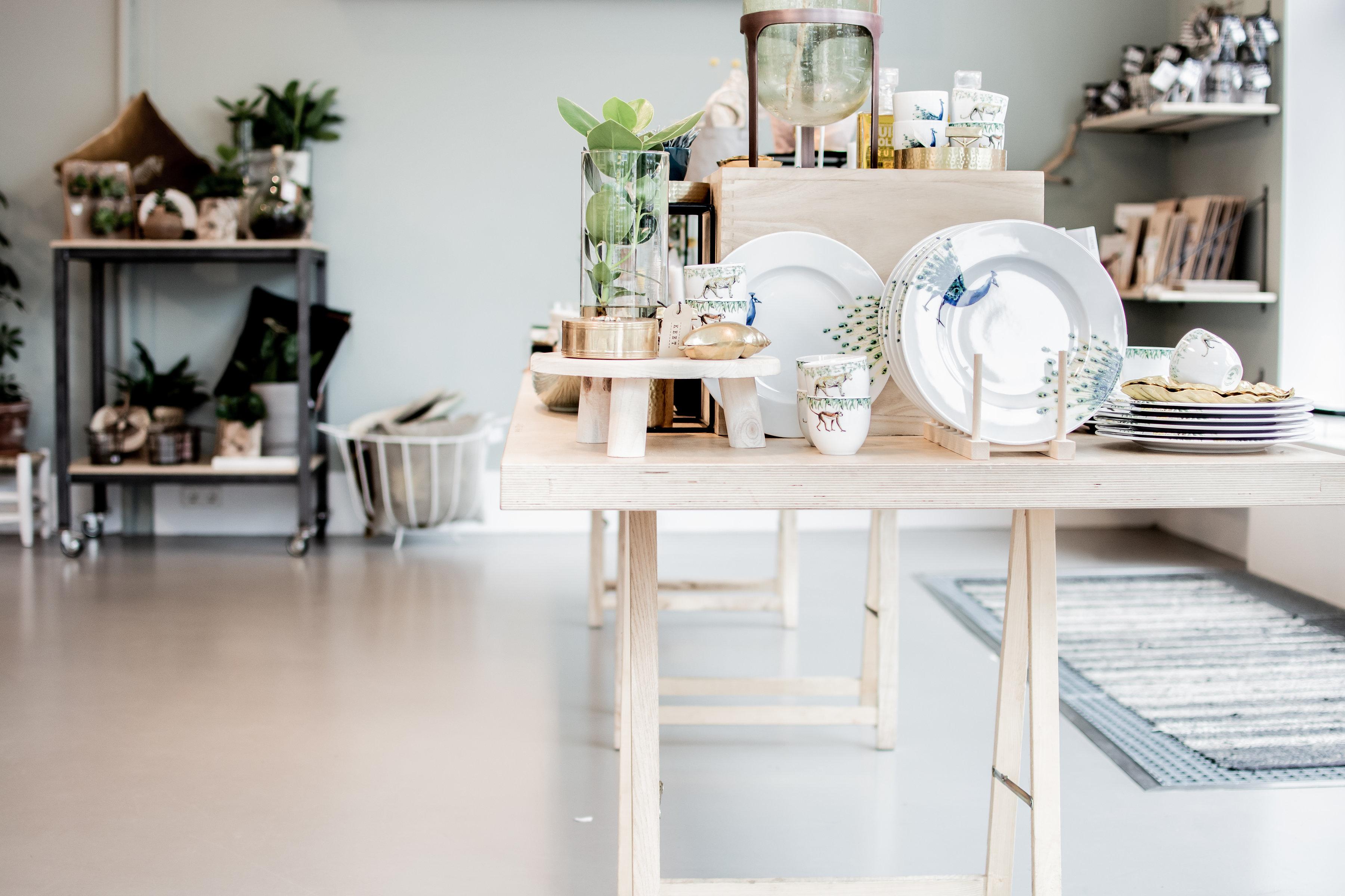 Servies Winkel Rotterdam.Conceptstore Centrum Keet Rotterdam