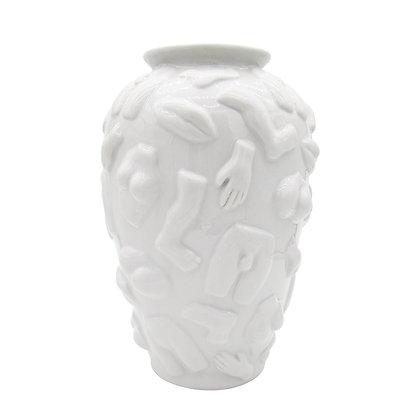 Vaas White with Limbs Size: ø 20 x 30 cm