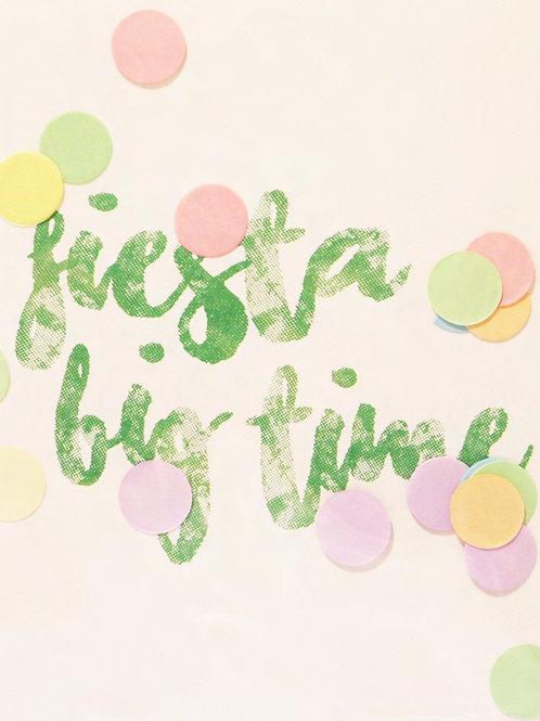 Confetti Kaart - Fiesta Big Time
