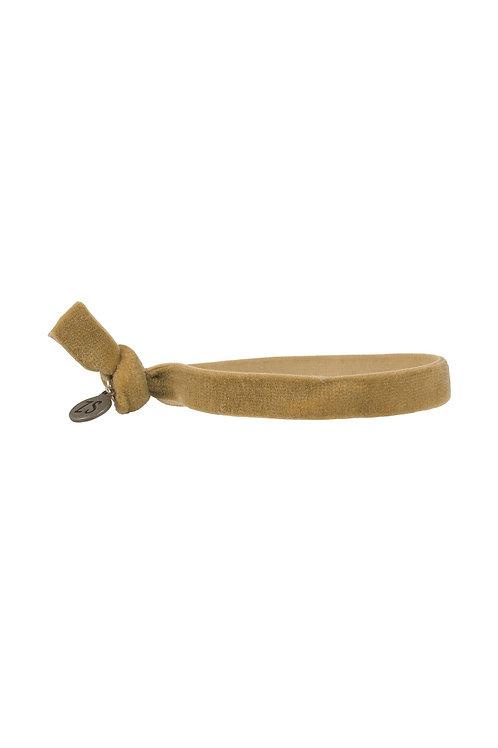 Armbandje fluweel - Oker