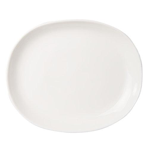 UNC Plate urban clay - Wit Ø25cm