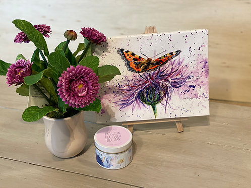 Thistle & Butterfly Set