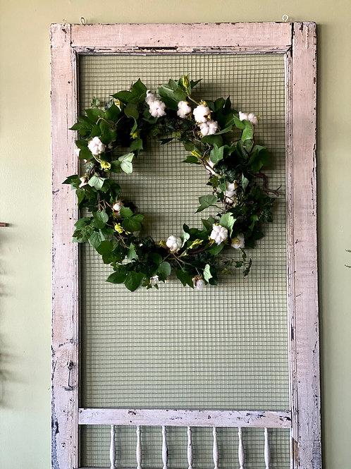 Organic Cotton Wreath