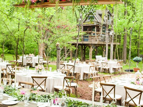 Elegant Garden Wedding with Urban Accents