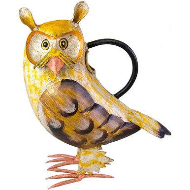 Artisan Owl Watering Can