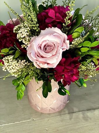 pink preserved roses valentines day 2.jp