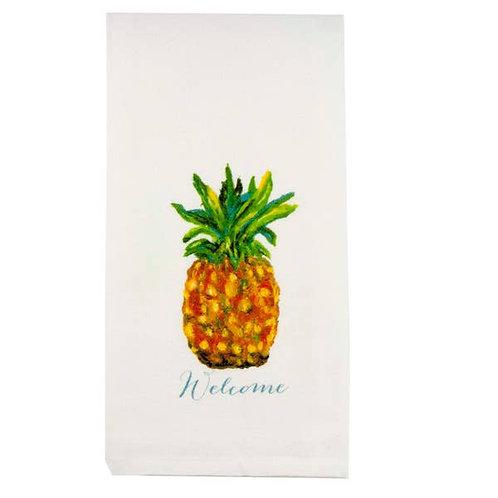 Pineapple Welcome Towel