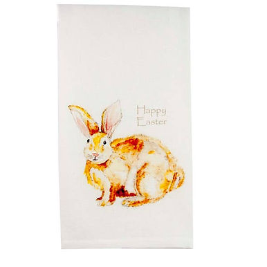 Fluffy Easter Bunny Towel