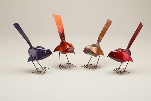 Standing Copper Spring Birds